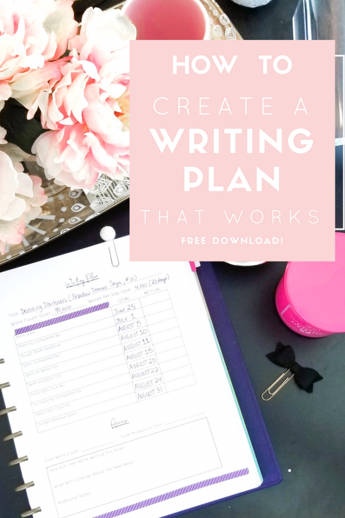 how-to-create-a-writing-plan-pinterest